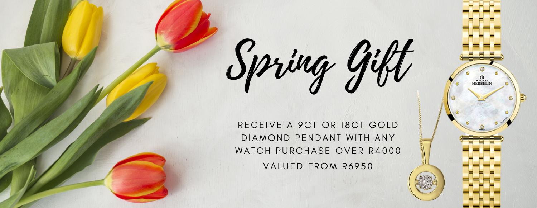 Spring Gift Promotion